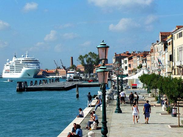 navi crociera venezia