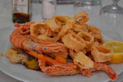 frittura di pesce santa margherita ligure