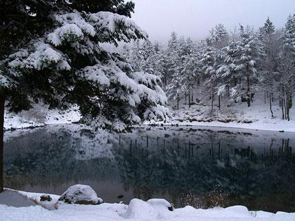 lago delle lame - parco dell'aveto