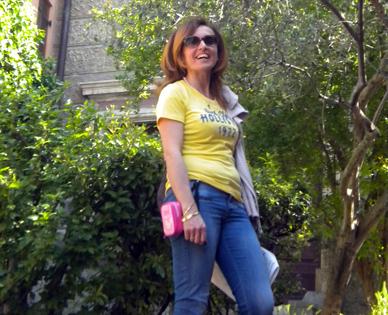 rosalaura orabona garden B&B Arezzo