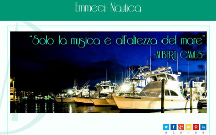 Cantiere navale in Liguria