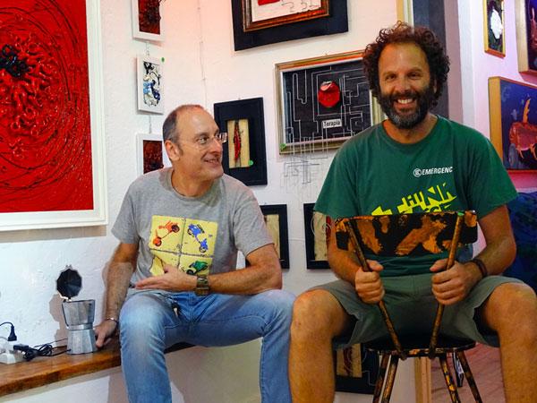 Andrea Corbetta e Diego Biggi