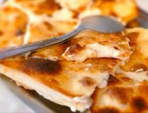 Focaccia al formaggio di Recco