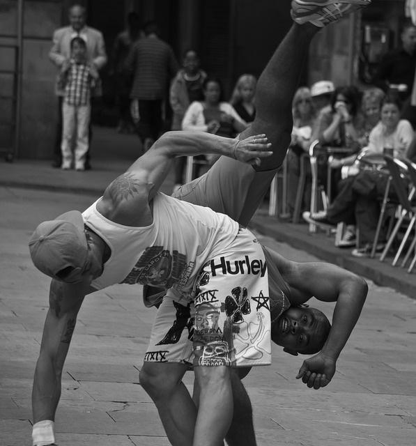 rapallo street show sport
