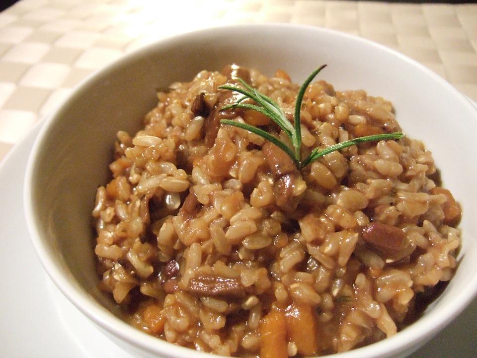 Sapori d'autunno: il risotto ai porcini essiccati